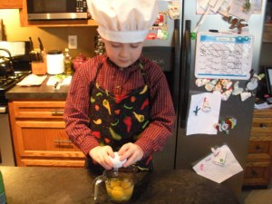 Cracking Eggs | Diary of a Madmama