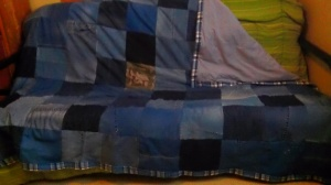 Denim Quilt | Diary of a MadMama