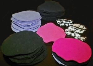 DIY Felt Coasters - DiaryofaMadMama.wordpress.com