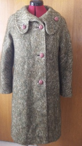 What should this ugly green coat be refashioned into?