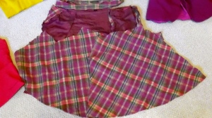 49-Cent Friday: Scrappy Skirt Refashion | Diary of a MadMama