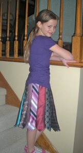 Necktie Skirt | Diary of a MadMama