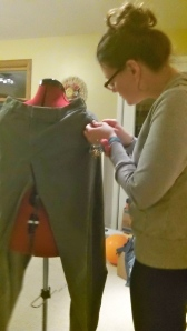 Refashioning Dress Pants | Diary of a MadMama