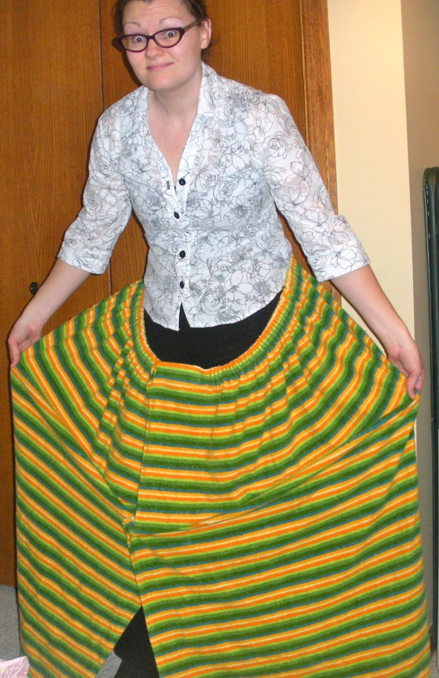 Huge skirt refashion | Diary of a MadMama