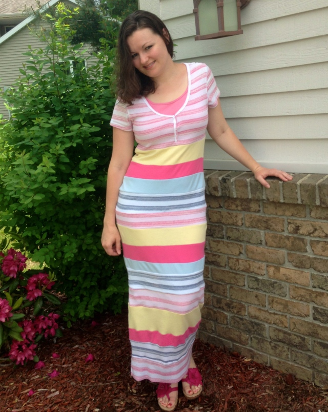 """Refashion Runway Competition Week One """"Stripes"""" 