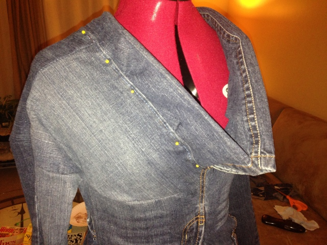 Refashion Runway Competition: Week Two - Denim | Diary of a MadMama