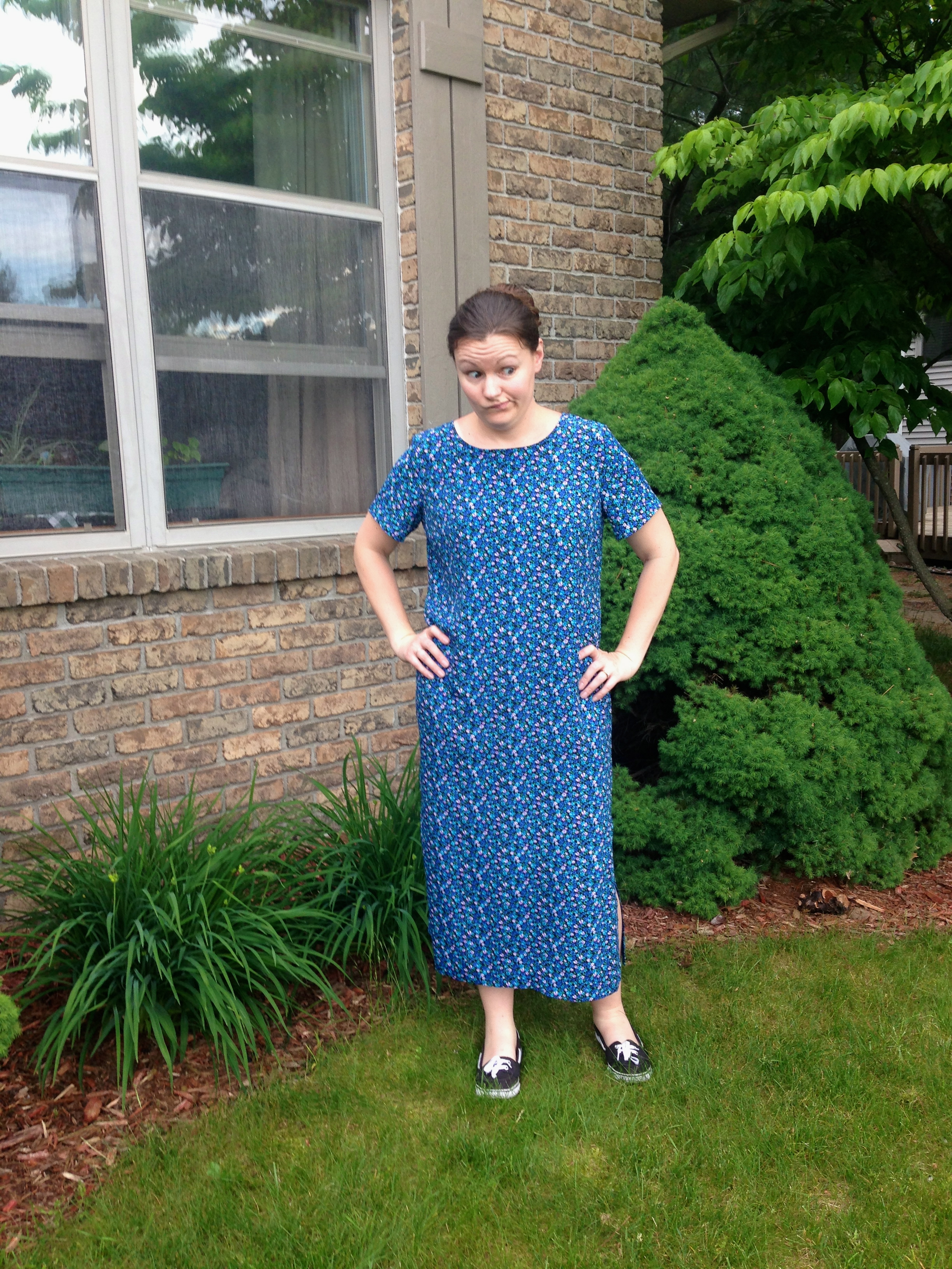 cent friday: summer dress refashion | diary of a madmama