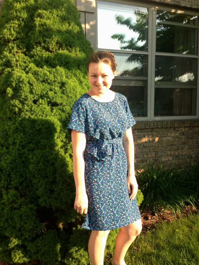 49-Cent Friday: Summer Dress Refashion | Diary of a MadMama