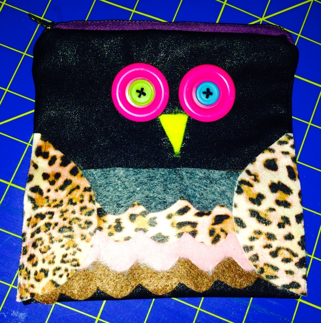 Refashioned Leather Owl Purse | Diary of a MadMama