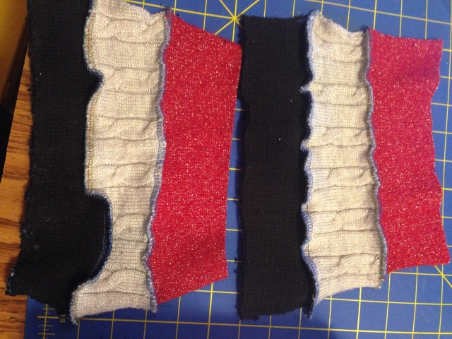 Refashioned Fingerless Gloves Tutorial | Diary of a MadMama